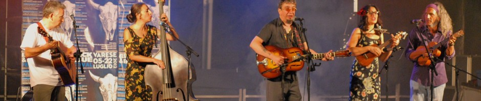 Paolo Bonfanti e The red wine serenaders - Varese 2012