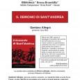 """Venerdì 21 febbraio, presso la Biblioteca """"Bruna Brambilla"""" di Varese, si terrà la presentazione del libro """"Il Demonio di Sant'Andrea"""" di Gaetano Allegra, giovane autore varesino che sarà presenta all'incontro."""