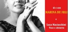 """Il 9 agosto alle ore 21.15 a Bobbio (Pc) presso il Chiostro di San Colombano, l'Associazione Kardios presenta un omaggio a Franca Rame con il """"Partigiano Franca"""" (prossimamente anche a Varese) di e con Marina De Juli, con testi di Franca Rame, Dario Fo e Jacopo Fo."""
