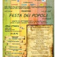 Sabato 20 settembre dalle ore 14.30 si terrà, a Caronno Pertusella, la Festa dei Popoli presso il Centro Govanile Familiare di via S. Alessandro. Il museo partecipa insieme all'Associazione COE nella proiezione di cortometraggi per ragazzi sul tema del cibo e dell'identità culturale.