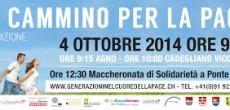 Sabato 4 ottobre a Lavena Ponte Tresa si terrà In cammino per la pace, un' iniziativa di solidarietà transfrontaliera promossa da diverse associazioni italo-svizzere e con la partecipazione di alcuni comuni del nostro paese, oltre...