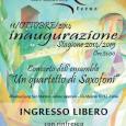 Il giorno 11 Ottobre alle ore 21:00 presso la sede della Cooperativa San Martino in via Mazzini, 12 a Ferno si terrà la serata di inaugurazione programma 2014/2015.       ...