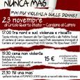 Il 23 novembre al circolo Quarto stato di Cardano al Campo si parla di Violenza sulle donne. Perché è ancora un problema sia a Nord che a Sud del mondo, perché non possiamo ignorarlo, perché parlandone possiamo provare a strappare il velo che troppo spesso si posa su questo tema.