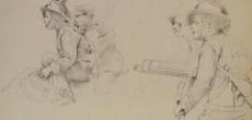 """In occasione della mostra: """"100 anni dalla Grande Guerra: Lodovico Pogliaghi illustratore, inviato speciale"""", la Galleria Ghiggini di Varese organizza una visita guidata e gratuita all'esposizione."""
