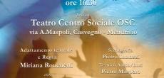 """Arriva a Mendrisio al Teatro Centro Sociale, Miriana Ronchetti, con l'adattamento teatrale tratto dal romanzo dello scrittore Luis Sepulveda """"Storia di una gabbianella e del gatto che le insegnò a volare"""".  L'appuntamento è domenica 19 aprile 2015 alle ore 16.30 in via A.Maspoli - Casvegno, Mendrisio- CH"""
