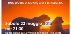 """Sabato 23 maggio, alle 21.30 circa, il Gruppo Teatro di Angera, presenta lo spettacolo dal titolo; """"Diversi... ma uguali! Una storia di coraggio e di amicizia. Lo spettacolo si terrà nel cortile della Scuola Primaria di Angera, Via Dante."""