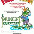 """Domenica 26 luglio alle ore 21, come da tradizione, la Pro Loco Azzate organizza nella piazza Cairoli, in occasione di S. Anna, uno spettacolo di burattini per bambini; """"Il principe Ranocchio""""."""