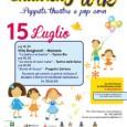 Mercoledì 15 luglio l'Associazione Progetto Zattera è lieta di presentare con il Patrocinio della Regione Lombardia e del Comune di Malnate, la Notte bianca dei bambini, una serata all'insegna dell'arte teatrale e del divertimento presso il parco di Villa Braghenti a Malnate.