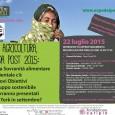 """Mercoledì 22 luglio alla Cascina Triulza, Expo 2015, dalle 14.30 alle 17.30, si terrà una conferenza dal titolo: """"Cibo, agricoltura, agenda post 2015"""", inerente la sovranità alimentare e ambientale che c'è nei nuovi obiettivi di sviluppo sostenibile che verranno presentati a New York in settembre."""