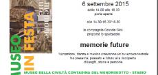 Domenica 6 settembre 2015 – presso il Museo della civiltà contadina del Mendrisiotto(Stabio) Una giornata per festeggiare la presenza del museo a Stabio e aprire le porte agli abitanti del comune, agli amici e agli...
