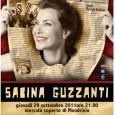 """Serata unica all'insegna della satira e del buon umore con """"Sì! Sì! Sì! Oh, sì!"""" il nuovo spettacolo di Sabina Guzzanti, che andrà in scena giovedì 29 settembre alle 21.00 al mercato coperto di Mendrisio"""