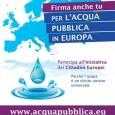 Martedì 14 Marzo, alle ore 21.30, presso la sala Noseda della CGIL di Como (via Italia Libera) vi sarà un'assemblea del comitato provinciale comasco acqua pubblica con tutti i sostenitori della provincia per fare il […]