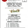 """Sabato 26 e domenica 27 ottobre, presso il Centro sportivo, in via Nino Bixio, si terrà il 2° Torneo regionale di Terza e quarta categoria di """"Tennis da tavolo- Città di Vedano Olona"""", una gara […]"""