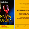 """Giovedì 24 ottobre, presso la libreria Feltrinelli Varese, si terrà la presentazione del nuovo giallo di Sergio Cova: """"Una via d'uscita"""", con Barbara Zanetti, giornalista de La Prealpina  e scrittrice."""