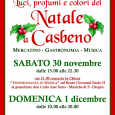 Sabato 30 Novembre e Domenica 1 Dicembre 2013, mercatino, gastronomia e musica a Casbeno (Varese) in occasione dell'undicesima edizione del mercatino natalizio, con il patrocinio della Provincia di Varese e del Comune di Varese.