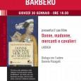"""Giovedì 30 gennaio, alle ore 18, presso il Museo MA*GA, via Egidio De Magri 1, Gallarate, Alessandro Barbero presenta il suo nuovo libro: """"Donne, madonne, mercanti e cavalieri"""". Dialoga con l'autore Danela Pizzagalli."""