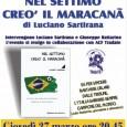 """Giovedì 27 marzo, alle ore 20.45, presso la Biblioteca Frera di Tradate si terrà la serata con l'autore Luciano Sartirana ed il suo """"Nel settimo creò il Maracanà"""". L'evento si svolge in collaborazione con ACF Tradate."""