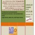"""Sabato 10 maggio alle ore 17.30, presso lo Spazio Scopri Coop, Via Daverio 44, Stella Bolaffi Benuzzi parlerà del suo libro: """"La Balma delle Streghe"""". Conducono la presentazione Margerita Giromini del Comitato Soci Coop e Luigi Grossi, detto Cin, dell'Anpi Varese. Ingresso Gratuito."""