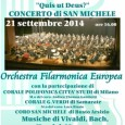 L'Orchestra Filarmonica Europea, nata nel 1989 con il nome di Orchestra sinfonica varesina, riprende l'attività' dopo la pausa estiva con un evento che è destinato a diventare un appuntamento annuale ricorrente: presso la Basilica di […]