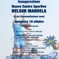 """Il 19 ottobre, negli spazi di via Circonvallazione a Lainate sarà inaugurato il nuovo impianto sportivo """"Nelson Mandela"""", struttura che andrà a completare il progetto """"Cittadella dello Sport"""". """"I motivi della scelta di intitolare questo […]"""