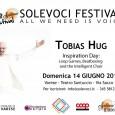 """Domenica 14 giugno, in occasione del Solevoci Festival, si terrà il workshop di beatbox """"Inspiration Day: Loop Games, Beatboxing and intelligent Choir"""" con Tobias Hug, alle ore 9,30 presso il  Teatro Gianni Santuccio, in via Luigi Sacco, 10, 21100 Varese."""