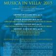 """Sarà l'Abenlied Ensemble con il trio solistico composto da Chiara Nicora (fortepiano), Fabio De Leonardis (violoncello) e Alberto Cesaraccio (oboe), l'interprete di """"Omaggio a C.P.E. Bach"""", il figlio più noto di Johann Sebastian, nel concerto […]"""
