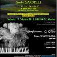 """Sabato, 17 ottobre 2015, presso la Villa Pomini di Castellanza (Via Don Luigi Testori, 14),si terrà il concerto""""Semplicemente … Chopin"""". Protagonista della performance sarà la pianistaTatiana Shapovalova, che si esibirà a partire dalle ore 21:00. […]"""