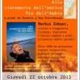 """Giovedì 22 ottobre alle ore 21:00, presso la Biblioteca Civica """"Frera"""" di Tradate si terrà la presentazione del nuovo libro di Markus Zohner, intitolato """"Alla scoperta dell'antica via dell'ambra. A piedi da Venezia a San Pietroburgo"""""""