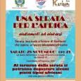 Sabato 28 novembre 2015 alle ore21 nel teatro dell'oratorio di S.Luigi di Somma Lombardo (via Mameli,67), l'associazione ProLoco, organizza una serata per l'Africa: Aiutiamoli ad aiutarsi. L'evento è a favore dell'associazione Karibuni, che opera a […]