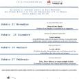 Sabato 21 novembre alle ore 21 presso la Sala Montanari a Varese in via dei Bersaglieri, inizierà la ventunesima stagione dell'Associazione Le Vie dei Venti.