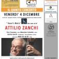 """Venerdì 4 dicembre alle ore 21 presso il CFM di Barasso, in via Don Parietti 6, è in programma il quinto concerto per 67 Jazz Club Varese con la presentazione  del nuovo CD """"Ravel's Walt"""" di Attilio Zanchi Quartet feat. Max De Aloe."""