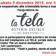 Sabato 5 dicembre dalle ore 18 a Rescaldina, Statale Saronnese 31, è in programma l'inaugurazione del nuovo progetto della Cooperativa Sociale Arcadia, socia storica del consorzio CCS, con un bene confiscato alla mafia che diventa una Osteria sociale.