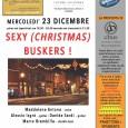 """Mercoledì 23 dicembre presso lo Spazio Futuro Anteriore in via Speri Della Chiesa Jemoli 3 a Varese, alle ore 19,30 - 20,30 e alle 21,30 è in programma il VI concerto della rassegna """"67 Jazz Club in Città"""" dei Sexy (Christmas) Buskers."""