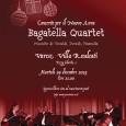 Martedì 29 dicembre alle ore 21 presso Villa Recalcati in piazza Libertà 1 a Varese è in programma il concerto per il nuovo anno eseguito dal Bagattella Quartet, con musiche di Vivaldi Dvořák e Piazzola.