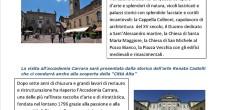 Domenica 14 Febbraio si svolgerà una visita alla città di Bergamo e l'Accademia di Carrara.  Il costo della escursione è di 55 euro a persona. E' gradita la prenotazione presso l'Agenzia Sensazione Viaggi situata in Via Speroni 14 di Varese.