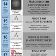 """Si è conclusa la prima settimana della terza edizione di VAJAZZFESTIVAL """"Rowing against the tide/Remando contro la corrente"""". Il Festival prosegue con questi altri quattro appuntamenti. Giovedì 14 aprile 2016 alle ore 21.00 presso la […]"""