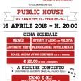 """Sabato 16 aprile alle ore 20.00, presso il pub """"Public House"""" in via Cavallotti 12, Vergiate (VA). I volontari del gruppo Emergency di Busto Arsizio, in collaborazione con il locale """"Public House"""" organizzano una cena […]"""