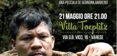 Sabato 21 maggio alle ore 21.00 a Villa Toeplitz (via G.B.Vico, 16) è in programma il film Icaros di Georgina Barreiro, un documentario che esplora l'universo spirituale profonda dei popoli indigeni Shipibo che vivono lungo […]