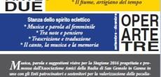 Domenica25 Settembre (ore 16,30) riprendono i concerti presso la Badia di Ganna con la III stanza dello spirito: Il trio Chaminade proporrà un programma al femminile, con due trii di compositrici dell'Ottocento: Clara Schumann ed […]