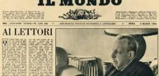 """Mercoledì 19 ottobre alle ore 18, nella sede della Biblioteca Civica Centrale di Torino (via della Cittadella , 5), si inaugurala Mostra itinerante storico/documentaria """"Il Mondo"""" di Pannunzio. 1949 – 1966. La Mostra, a cinquant'anni […]"""