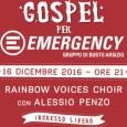 Venerdì 16 Dicembre il Gruppo di Emergency di Busto Arsizio, organizzerà un gospel benefico presso il Cinema Teatro Nuovo di Olgiate Olona L'iniziativa di beneficenza, promossa dal Gruppo Emergency di Busto Arsizio e arrivata alla […]