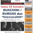 La quinta stagione del 67 Jazz Club di Varese si inaugurerà sabato 23 settembre all'Auditorium del CFM di Barasso (VA), con un concerto dal titolo EntreveraDOSdel chitarrista classicoHoracio Burgos e del suonatore di basso acustico […]
