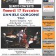 """Venerdì 17 Novembreil """"Daniele Gorgone Trio"""" si esibirà sul palco del 67 Jazz Club a Varese. Il concerto inizia alle ore 21.15 e l'ingresso costa 10€."""