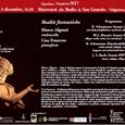 Domenica 3 dicembre ultimo appuntamento alla Badia di Ganna (ore 16.30) con il duo Marco Algenti (violoncello) e Lisa Francese (pianoforte). In programma musica di Schumann, Mozart e Bach. Marco Algenti – Dopo il diploma […]