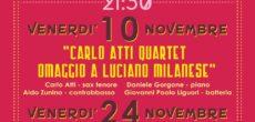 Venerdì 24 novembre, alle ore 21.30, presso la Sala Planet di Gallarate, in via Magenta 3, si terrà il concerto d'eccezione per larassegna Jazz'Appeal, storicoappuntamento per tutti gli appassionati del grande jazz, giunta alla XVIII […]