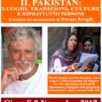 Giovedì 9 novembre alle ore 21 in biblioteca Frera (Tradate),Werner Kropikpresenta il suoDocumentario sul Pakistan un viaggio attraverso luoghi, tradizioni, culture e soprattutto persone, ricalcando le tracce di un itinerario compiuto dallo stesso Kropik 18 […]
