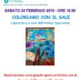 Due nuovi eventi prossimamente a Laveno Mombello: un simpatico laboratorio con il sale e un apericena letterario. Vediamo gli eventi nel dettaglio: Sabato 24 Febbraio, presso il MIDeC (Museo Internazionale del Design Ceramico) di Cerro […]