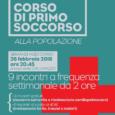 Visto il successo delle precedenti edizioni, il Comitato della Croce Rossa di Lomazzo (Como) organizza unnuovo corso di primo soccorso aperto a tutta la popolazione. Il primo incontro si terràlunedì26 febbraio 2018alle ore 20:45, presso […]