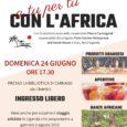 Domenica 24 giugno alle ore 17:30 presso la biblioteca BICA di Carnago si terrà l' aperitivo solidale A tu per tu con l'Africa, ci saranno bancarelle con prodotti ugandesi e ballerini di danze africane. […]