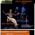 """In occasione della prima edizione della rassegna di teatro estivo """"Teatro Sotto le Stelle"""" della Compagnia Intrecci Teatrali,giovedì 28 giugno, alle ore 21.00, nella suggestiva cornice di Villa Borromeo a Viggiù andrà in scena la […]"""